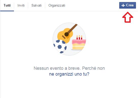 facebook-crea-eventi organizzare un evento su facebook
