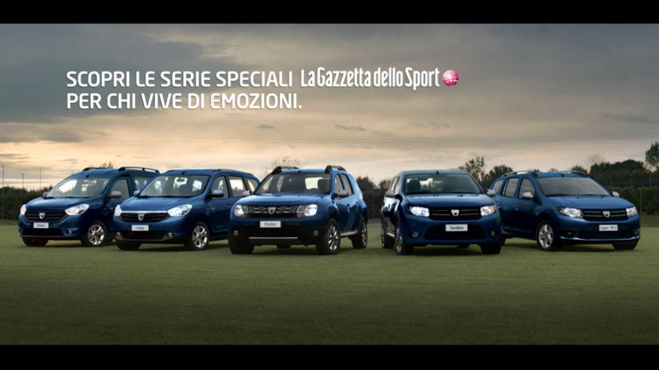 Canzone pubblicità Dacia serie speciale La gazzetta dello sport 2015
