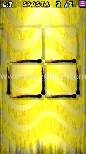 Soluzioni Rompicapi con i fiammiferi Livello 7