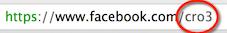 Non ricordo la password di Facebook nome utente url facebook