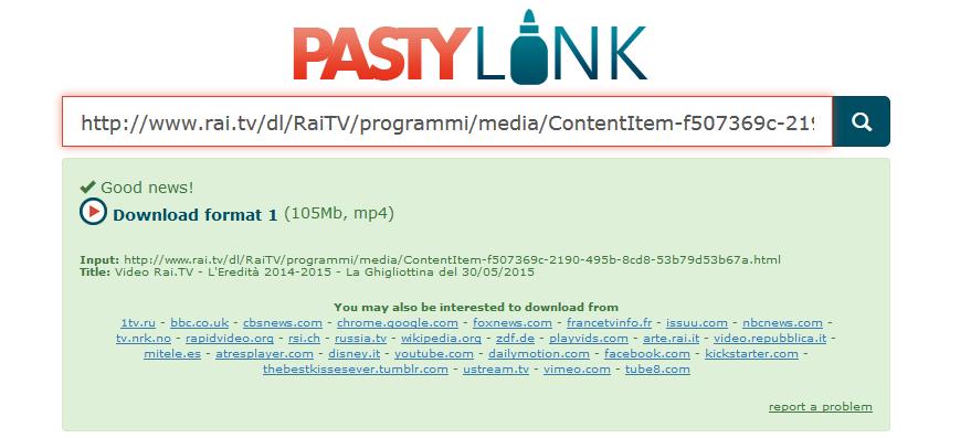 pastylink