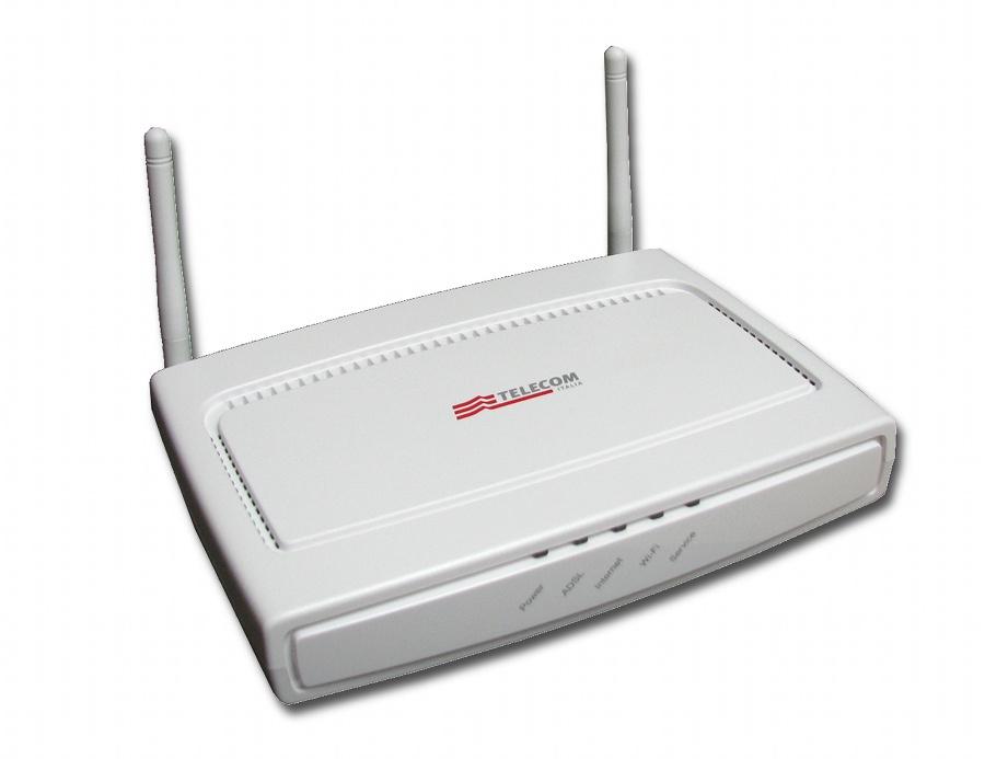 modem router adsl alice telecom italia