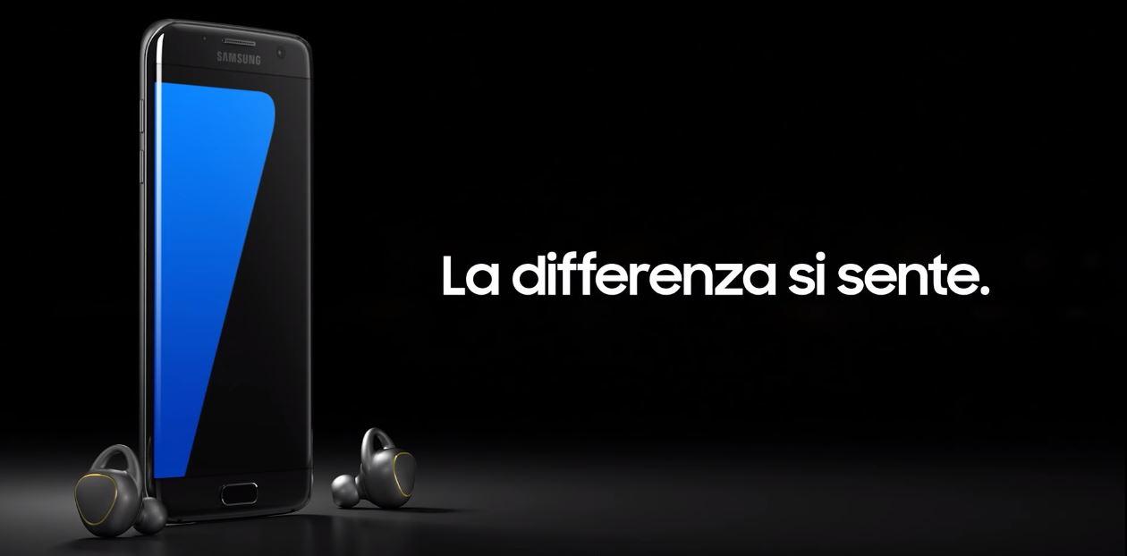 Canzone pubblicità Samsung Galaxy S7 Gear IconX 2016