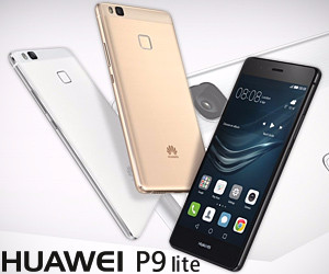 Huawei P9 Lite Smartphone, LTE, Display 5.2'' FHD, Processore Octa-Core Kirin 650, 16 GB Memoria Interna, 3GB RAM, Fotocamera 13 MP, Single-SIM, Android 6.0 Marshmallow
