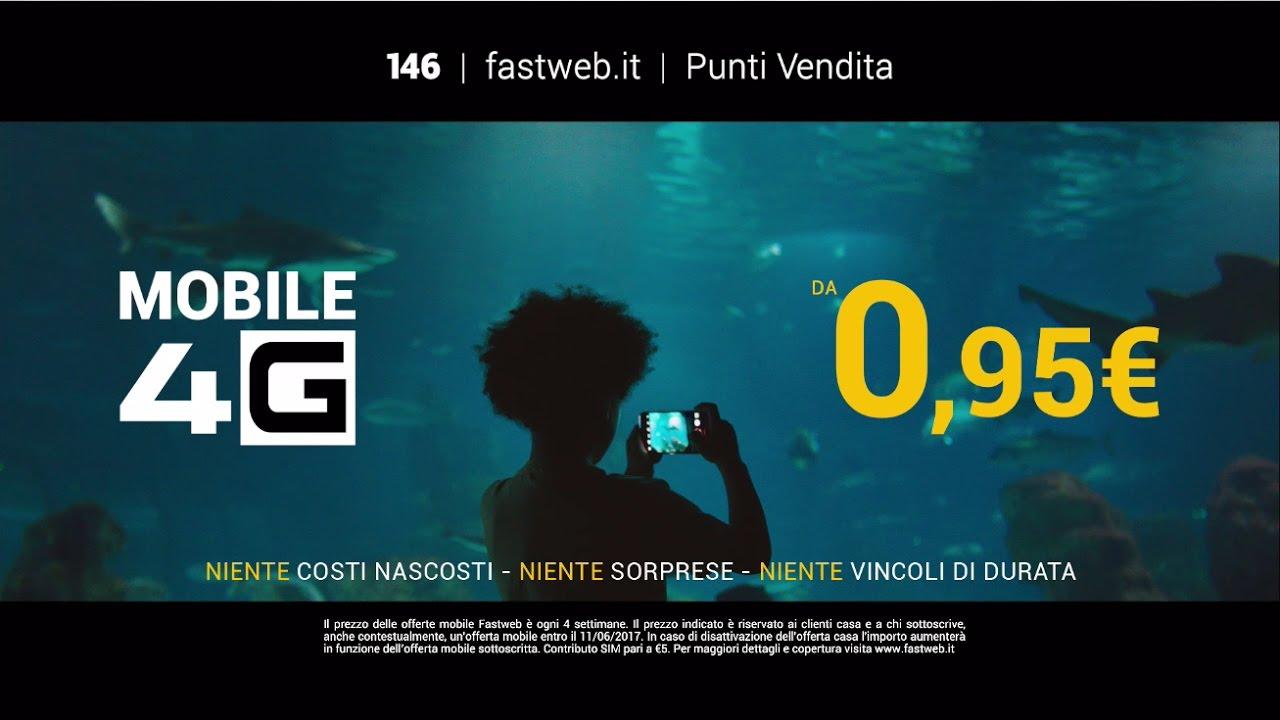 Canzone pubblicità Fastweb Mobile 4G 2017