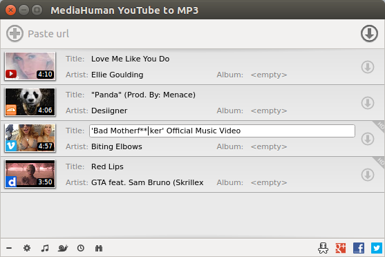 Come scaricare velocemente MP3 da Youtube con Linux