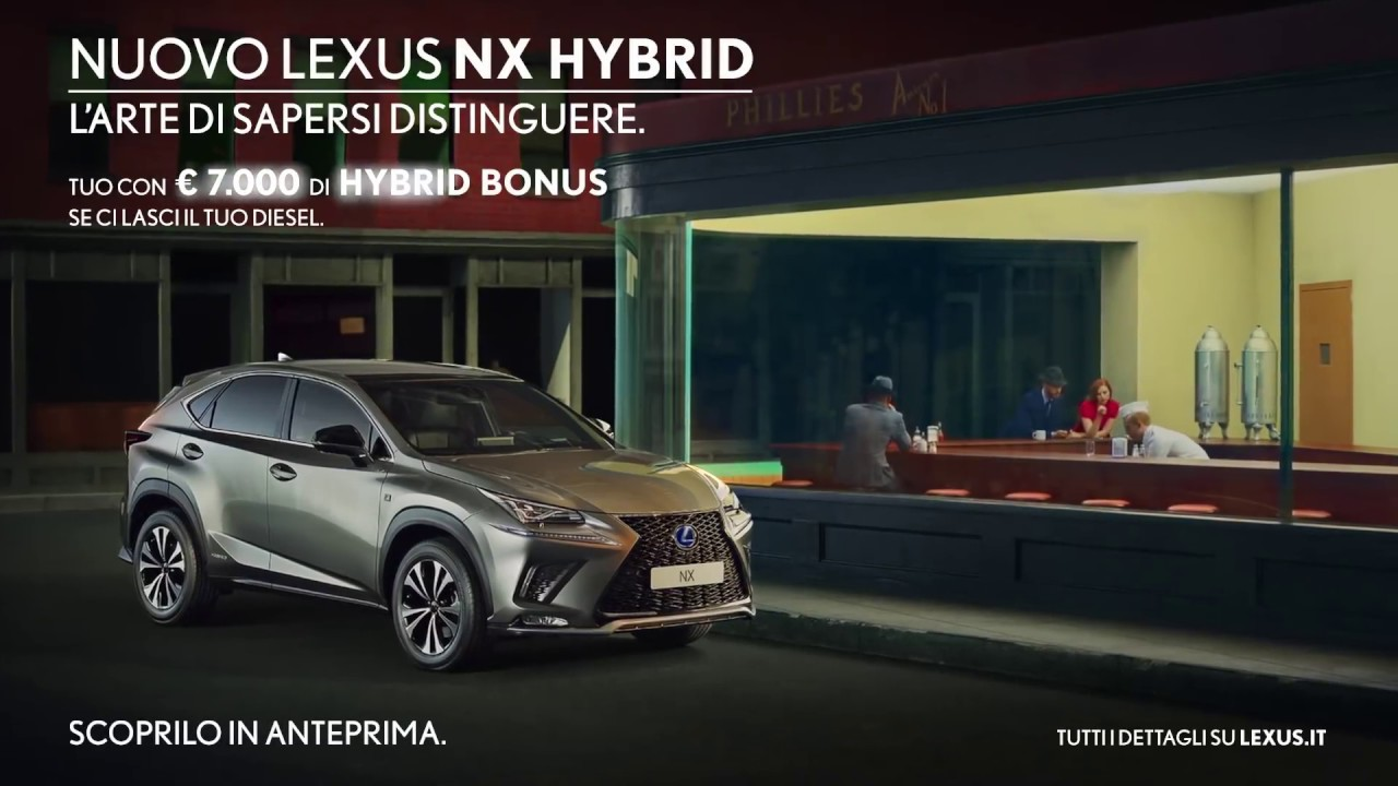 Canzone pubblicità nuovo Lexus NX Hybrid 2019