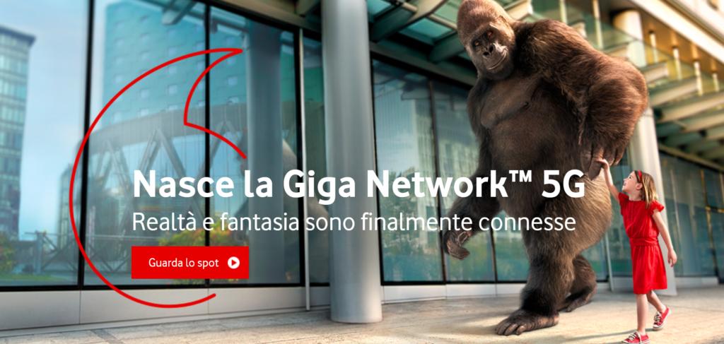 Canzone pubblicità Vodafone Giga Network 5G 2019