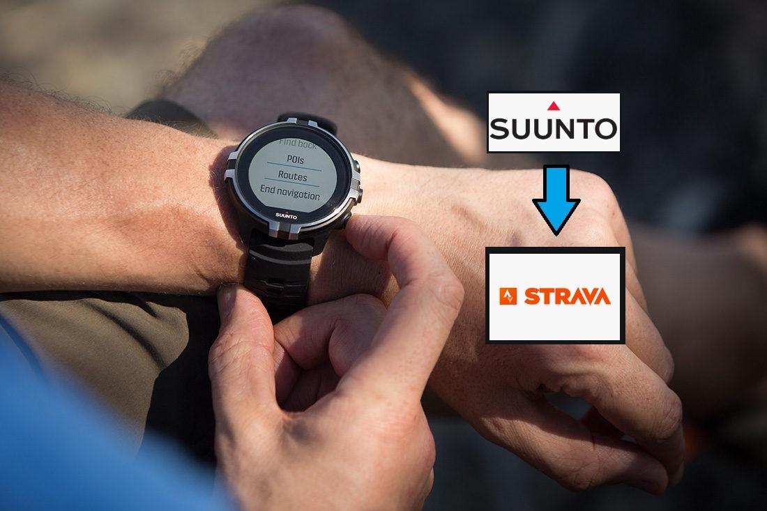 Come collegare un orologio Suunto con Strava
