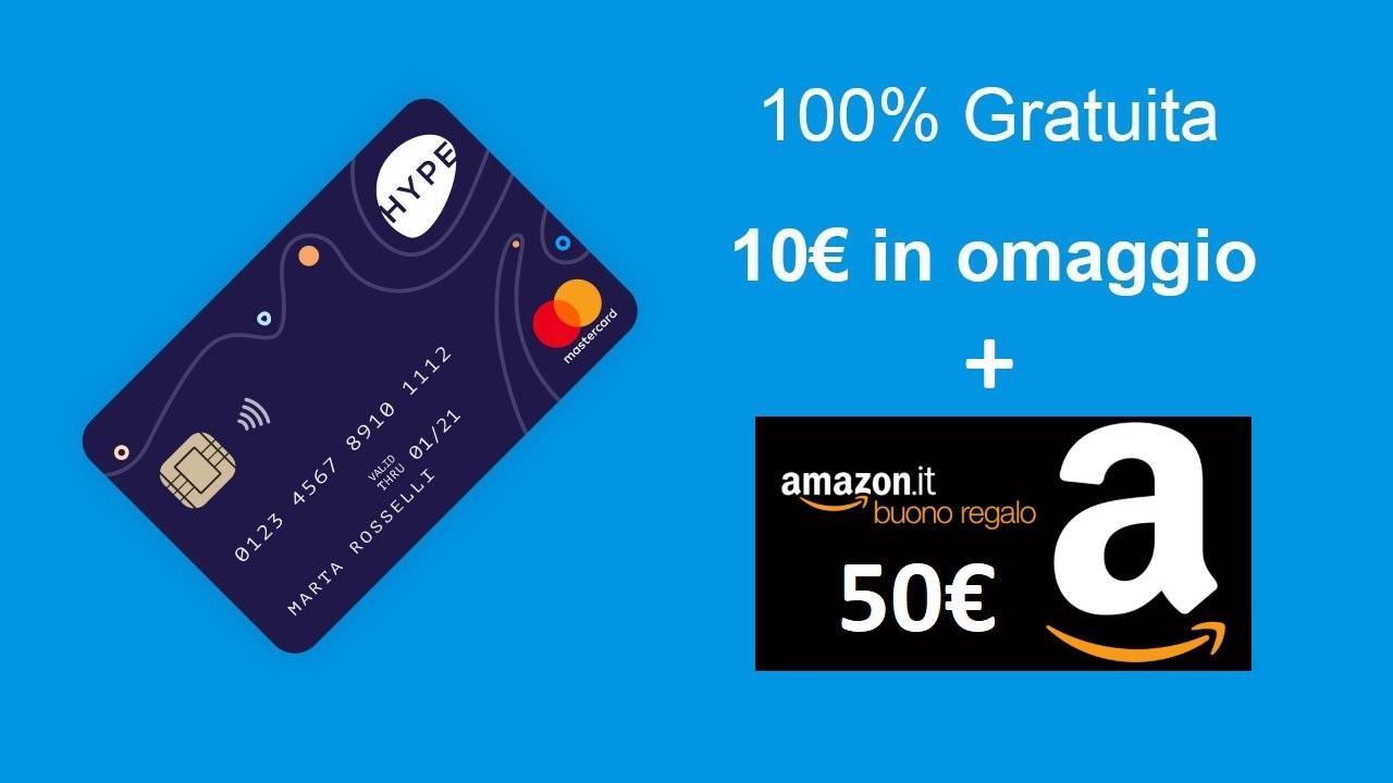 Come guadagnare 10 euro cash e 50 euro di buoni Amazon