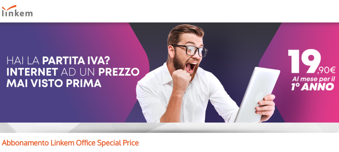 Linkem Office Special Price