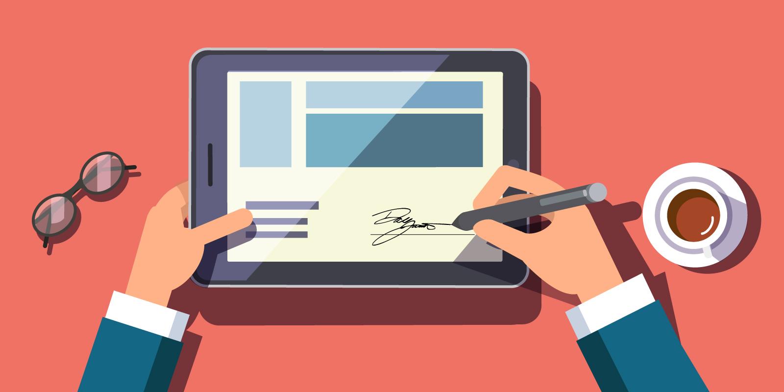Come applicare una firma elettronica su documento PDF o Word