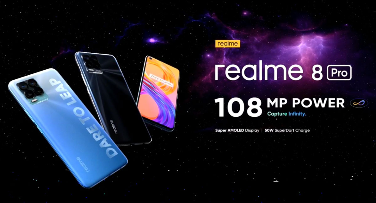 Realme 8 Pro sistema NFC