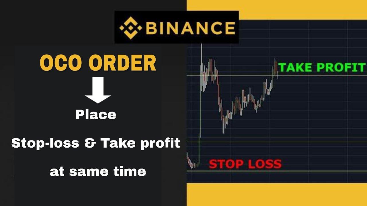 impostare Take Profit e Stop Loss su Binance